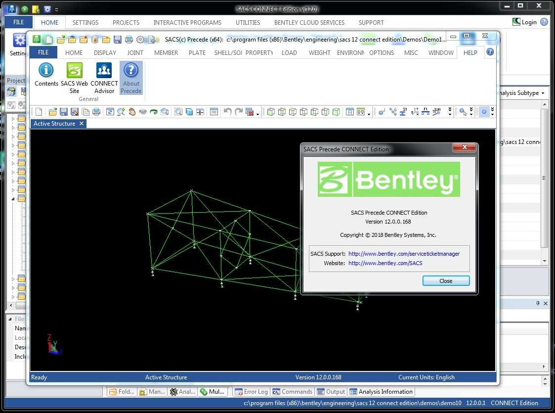 Working with SACS CONNECT Edition 12 Build 12.00.00.01 full