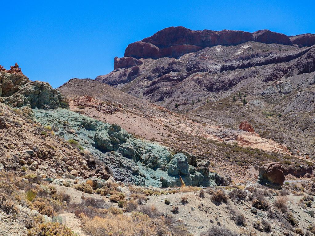 Los Azulejos en el Parque Nacional del Teide