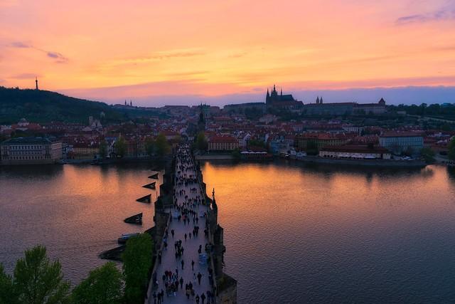 Czech out that sunset