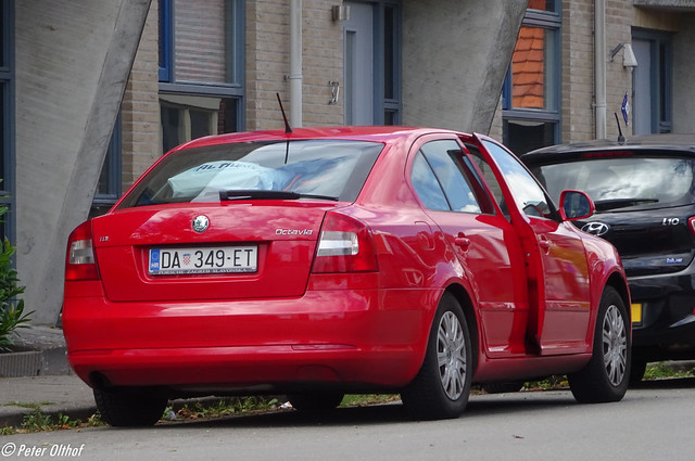 Škoda Octavia from Croatia