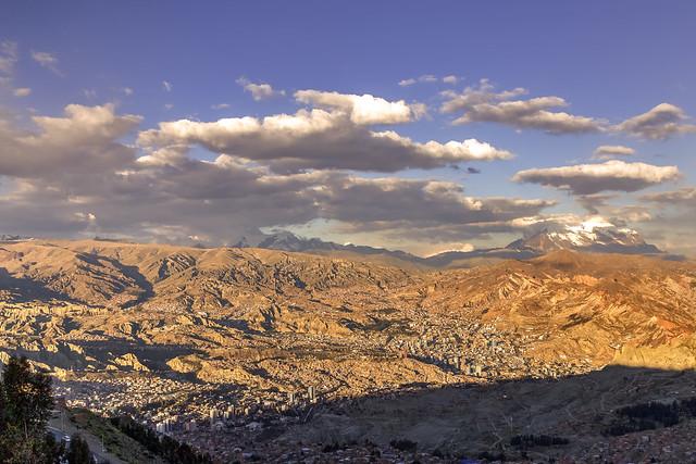 La Paz, obrajes y zona sur