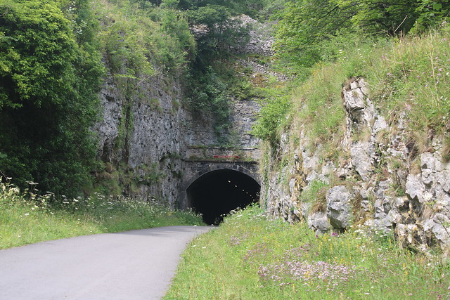 Litton Tunnel   (Former Matlock to Buxton Line)   July 2020