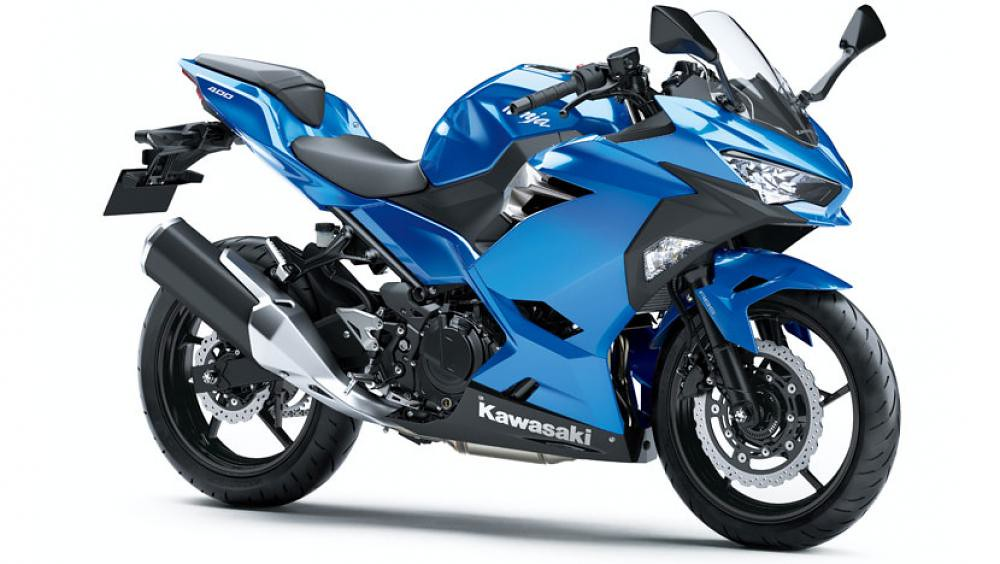 2021 New Kawasaki Ninja 400 Blue