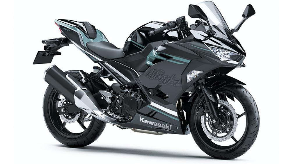 2021 New Kawasaki Ninja 400 Black Phantom