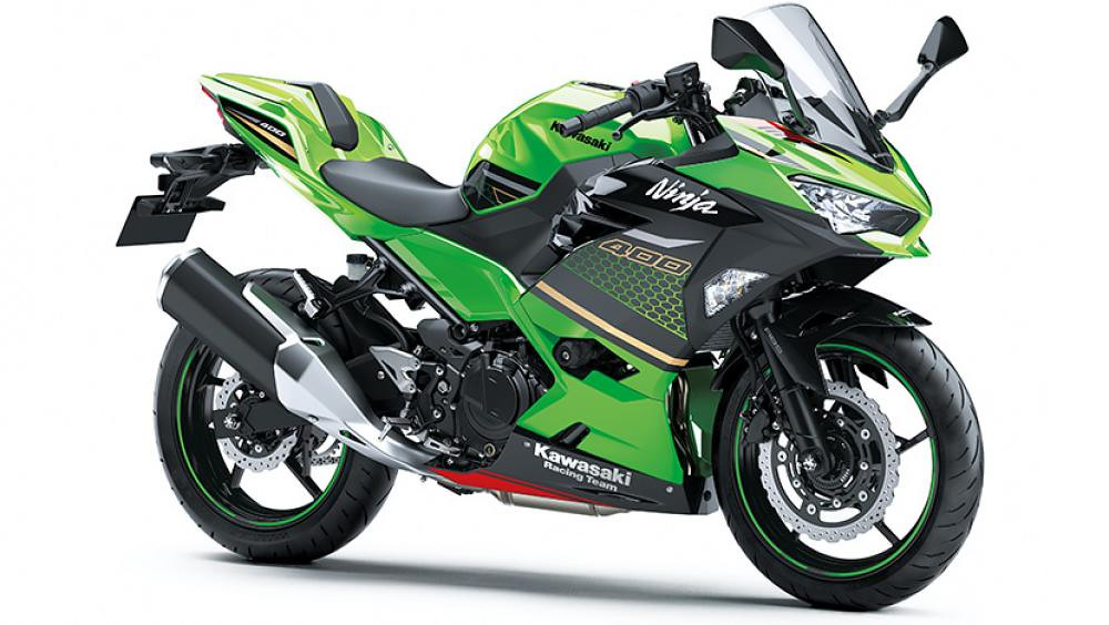 B2021 New Kawasaki Ninja 400 Green Ebony KRT