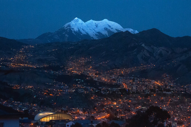 Illimani, La Paz, Bolivia.