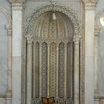 Damascus Umayyad (or Great) Mosque (Jamia al-Umawi) 708-715 Umayyad Prayer Hall Mihrab east (hanafi) (2)