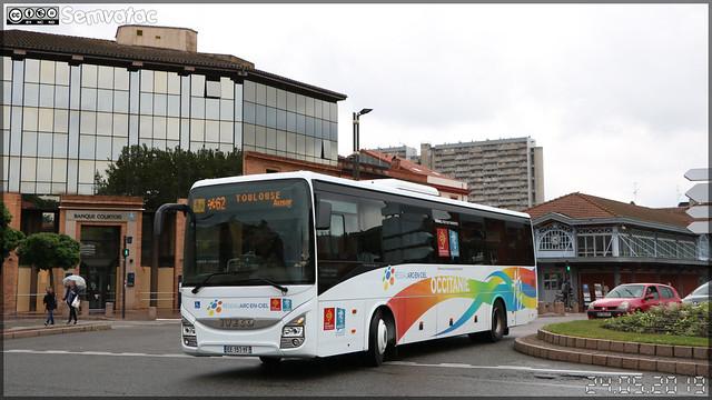 Iveco Bus Crossway – RDT 31 (Régie départementale de Transport de la Haute-Garonne) / liO (Lignes Intermodales d'Occitanie) (ex – Arc-en-Ciel) n°6602
