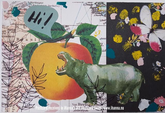 DIY Postcard made by Jana CH, North Carolina, US
