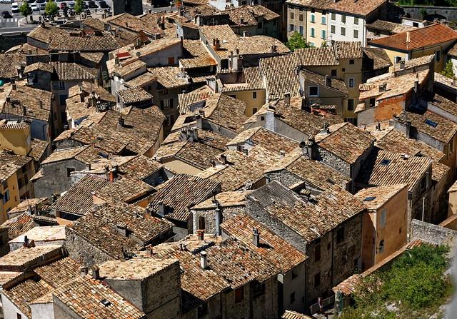 Entrevaux / Rooftops / Alpes de Haute Provence