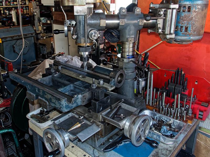 Herbert Junior Surface Grinder recommissioning.