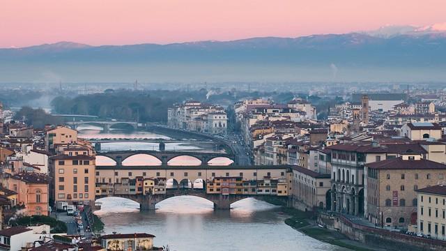 Ponte Vecchio Morning