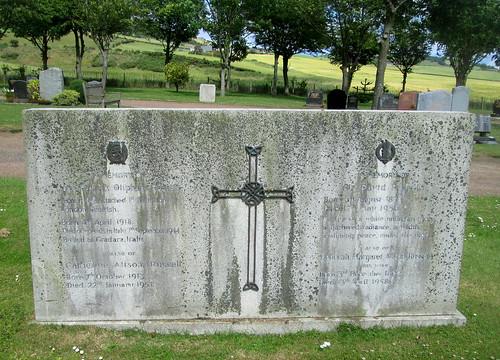 War Death Commemoration Upper Largo Kirkyard 1