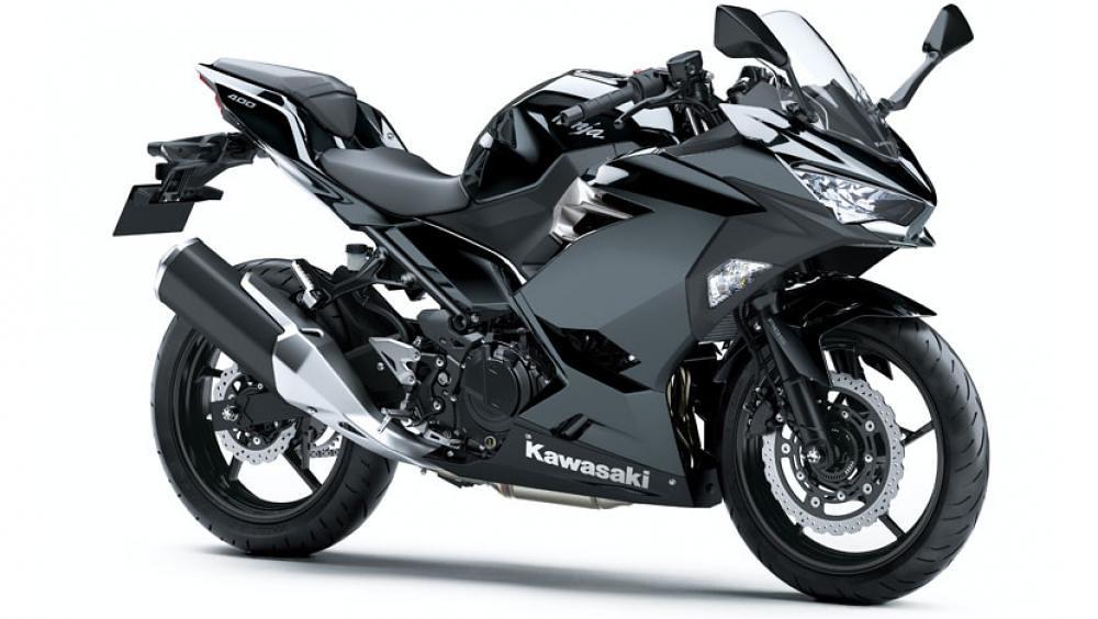 2021 New Kawasaki Ninja 400 Black Matte
