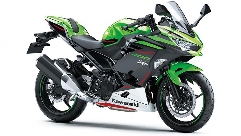 2021 New Kawasaki Ninja 400 Green Black