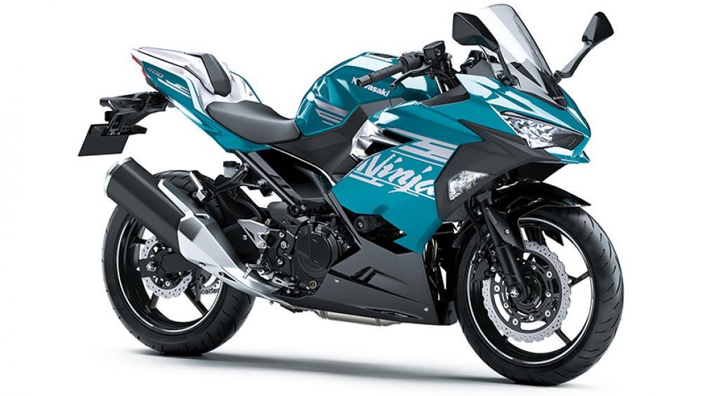 B2021 New Kawasaki Ninja 400 Blue SE