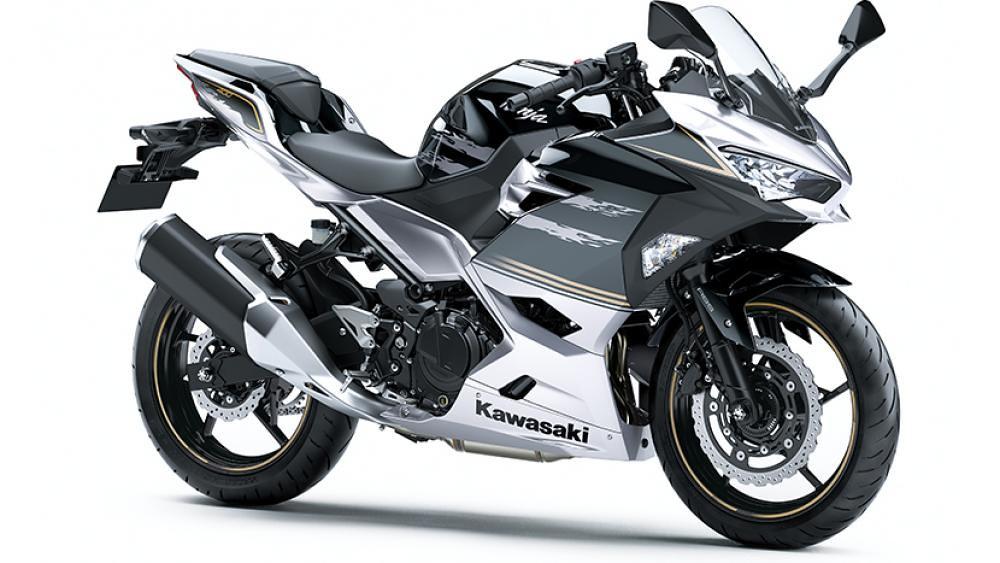 B2021 New Kawasaki Ninja 400 Silver