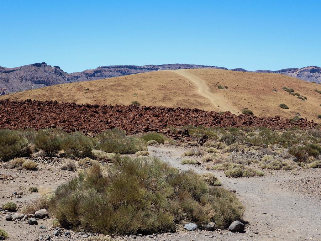 Montaña Majúa en el Parque Nacional del Teide