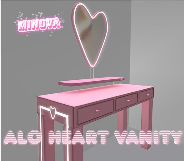 Alo Heart Vanity