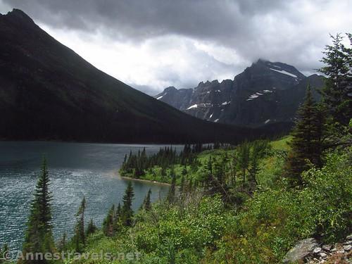 Views over Lake Josephine, Glacier National Park, Montana