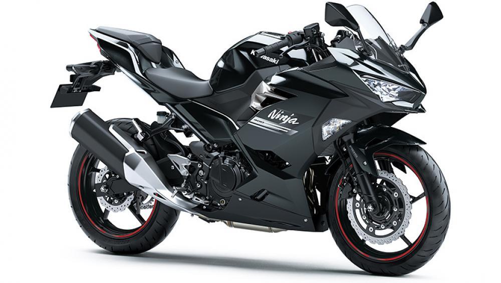 2021 New Kawasaki Ninja 400 Black