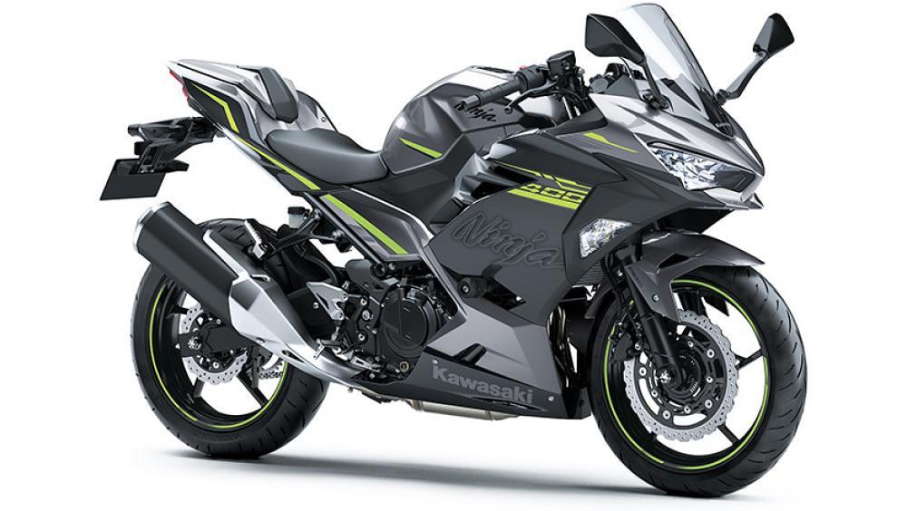 2021 New Kawasaki Ninja 400 Grey