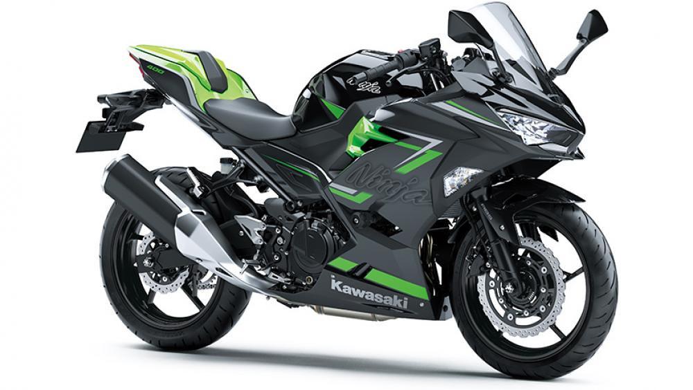 2021 New Kawasaki Ninja 400 Ebony Grey