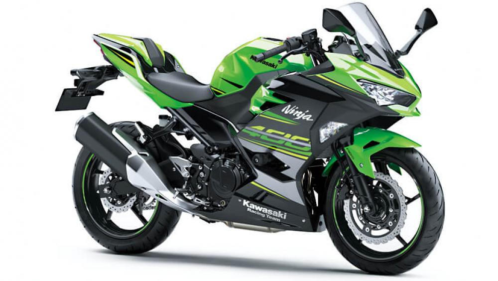 2021 New Kawasaki Ninja 400 Green