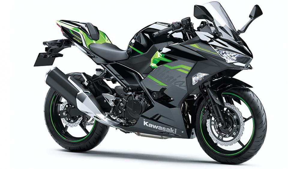 B2021 New Kawasaki Ninja 400 Black Green
