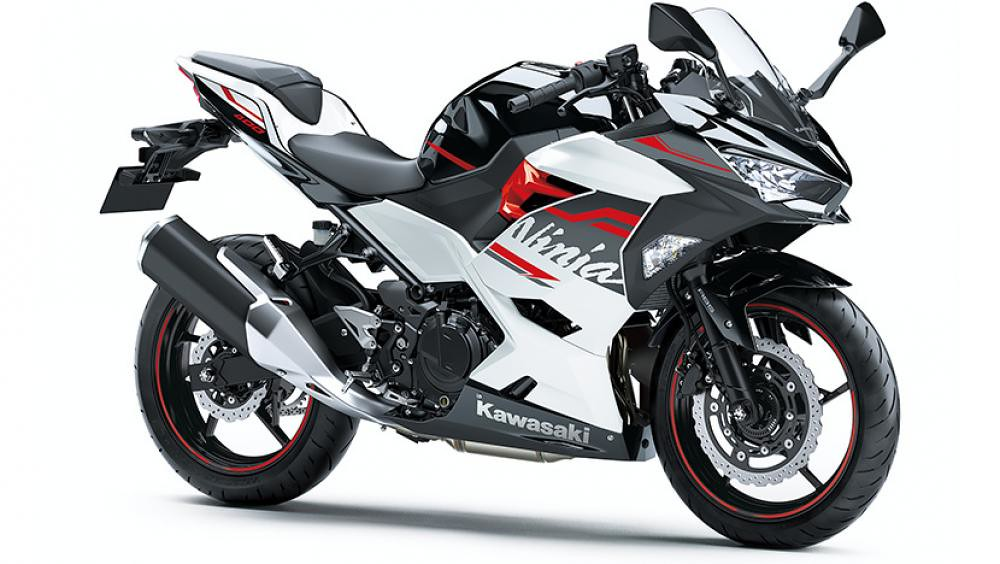 B2021 New Kawasaki Ninja 400 White