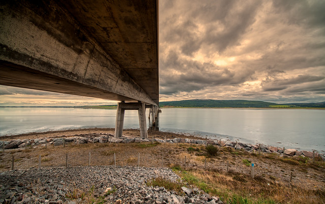 Dornoch Firth Bridge, Scotland.