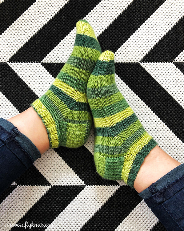 Spring Mix Shortie Socks