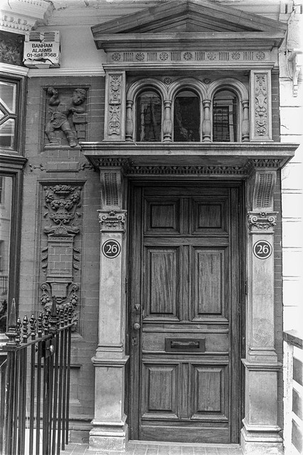 Devonshire Terrace, Bayswater, Westminster, 1987 87-7i-63-positive_2400