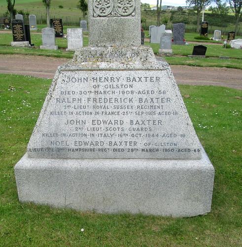 War Deaths Commemoration Upper Largo Kirkyard