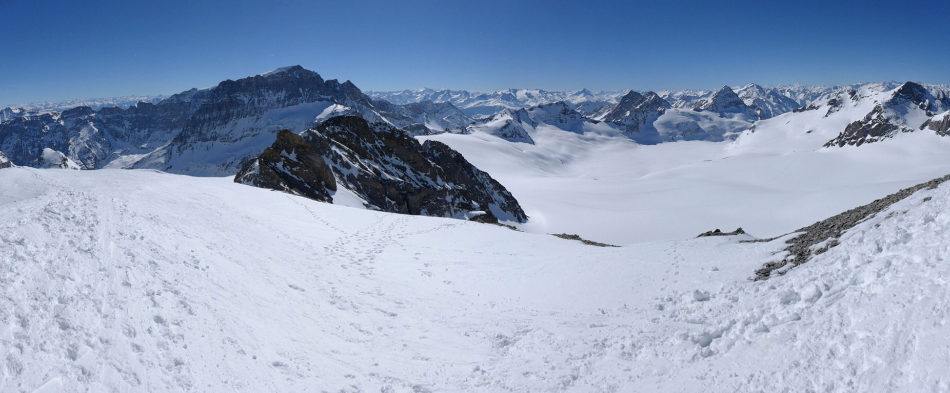 Clariden S, from Planurahütte Glarner Alpen Switzerland panorama 22