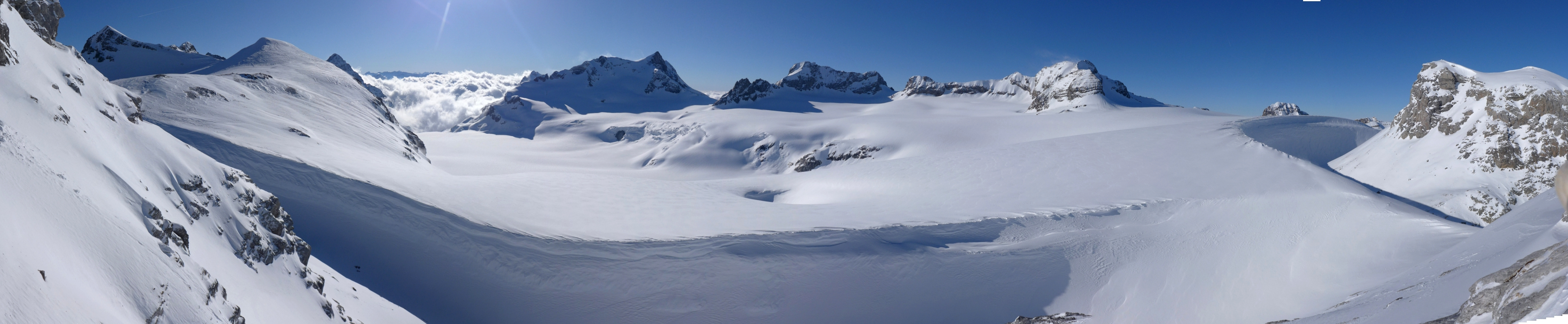 Clariden S, from Planurahütte Glarner Alpen Switzerland panorama 20