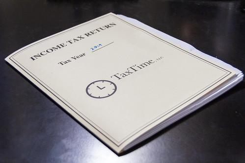 Income Tax Folder   ACES   Brady Delfs   Alabama Extension   Flickr