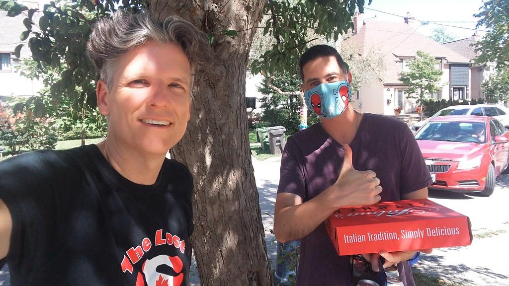 Erik Grosman and me