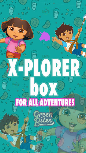 X-PLORER BOX.1 by Green Bites Cookies