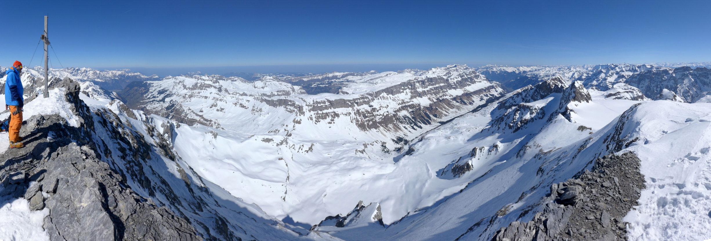 Clariden S, from Planurahütte Glarner Alpen Switzerland panorama 21