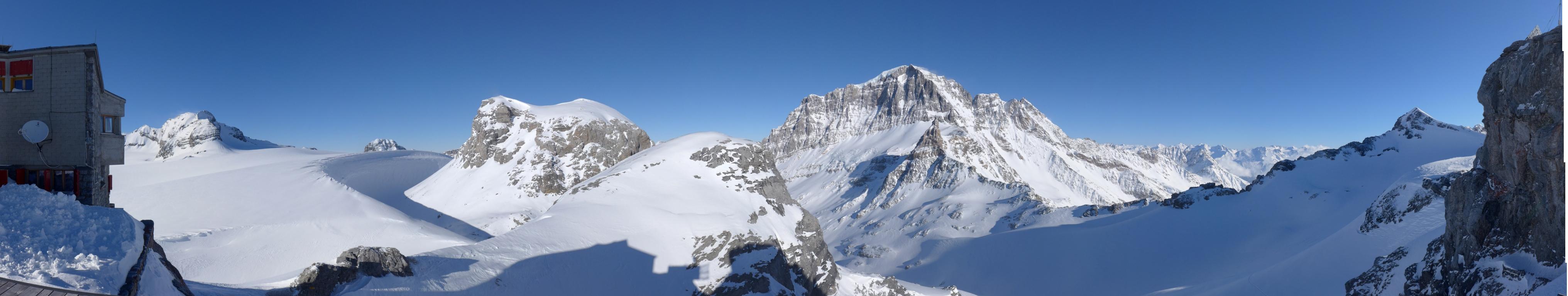 Clariden S, from Planurahütte Glarner Alpen Switzerland panorama 23