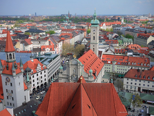 The rooftop of Munich.