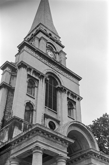 Interior, Christ Church, Commercial St,  Spitalfields, Tower Hamlets, 198787-7m-22-positive_2400