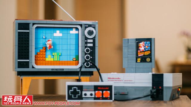 LEGO 71374「任天堂主機 NES & 復古電視機」開箱報告!復古情懷注入、充滿巧思的精彩作品~