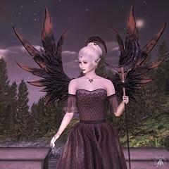 The Lady of Autumn Surveys Midsummer