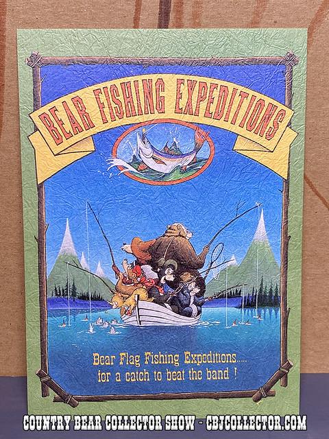 Vintage Tokyo Disneyland 5 Bear Rugs Old-TIme Postcard - CBCS #267