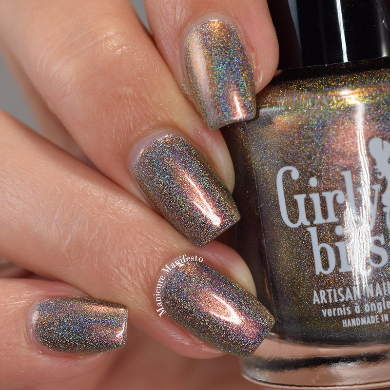 Girly Bits Cosmetics Blind Mind's Eye review