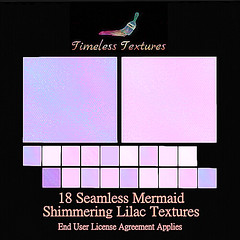 TT 18 Seamless Mermaid Shimmering Lilac Timeless Textures