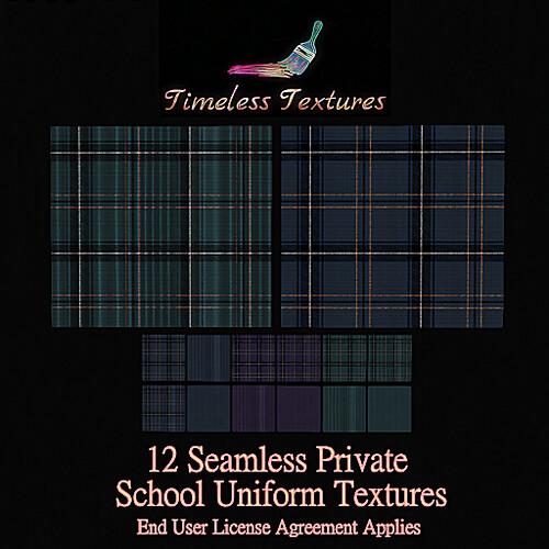 TT 12 Seamless Private School Uniform Timeless Textures