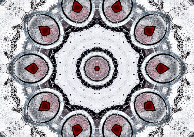 red sapphire kaleidoscope